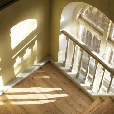 trappe vindue lysindfald