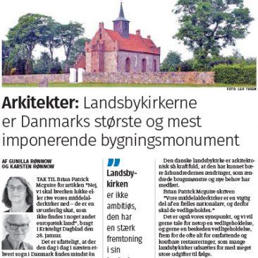 ronnow-arkitekter-kristeligt-dagblad-bevar-landsbykirkerne